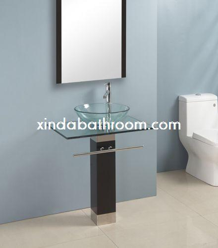 Glass vanities good quality glass bathroom vanity - Reasonably priced bathroom vanities ...