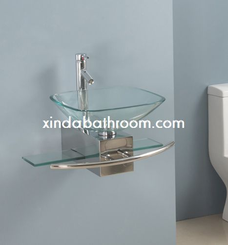 Glass Bowl Bathroom Vanity GV 014 ...